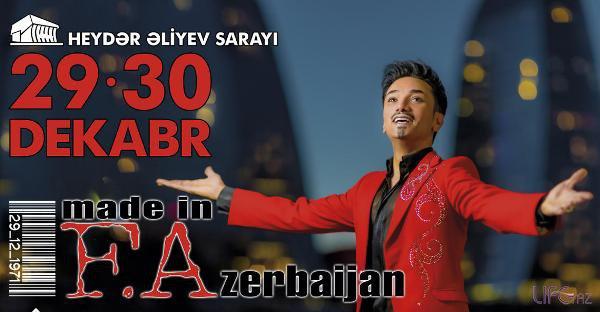 Фаиг Агаев устроит шоу мониторов на своем концерте