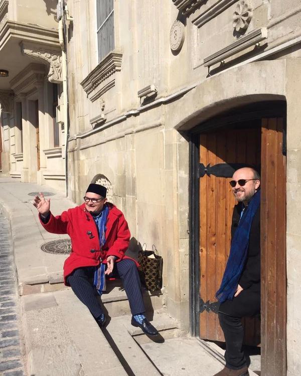 В Баку приехал ведущий программы
