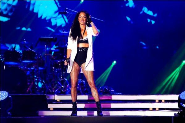 Грандиозный концерт Николь Шерзингер и группы The Black Eyed Peas в Баку