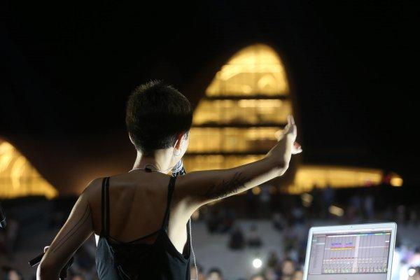 В парке Центра Гейдара Алиева состоялся концерт группы