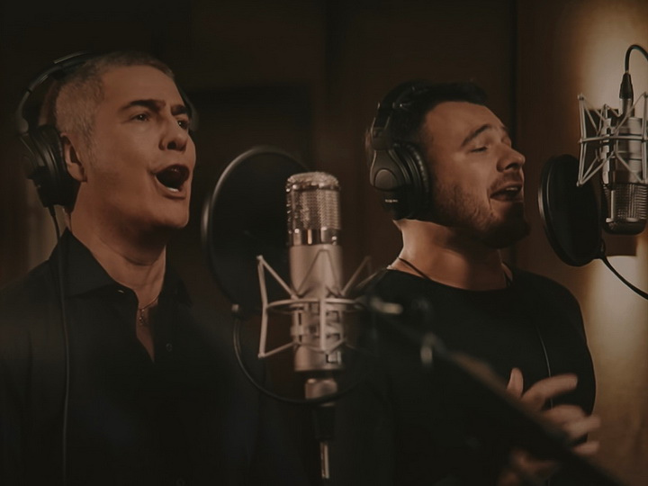 Алессандро Сафина и Emin представили песню Муслима Магомаева «Синяя вечность»