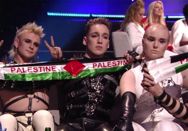 Мадонна показала флаг Палестины в финале «Евровидения-2019» в Израиле
